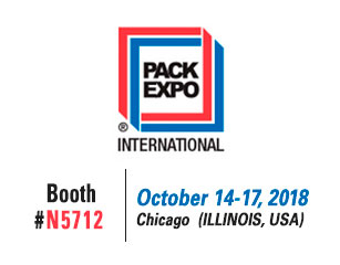 United Barcode Systems estará en Pack Expo Chicago 2018
