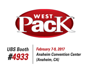 United Barcode Systems es expositor oficial en Westpack 2017 (Anaheim, CA)