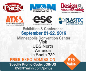 United Barcode Systems North America participa en MinnPack  2016, Minneapolis