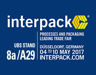 United Barcode Systems estará en Interpack 2017 Düsseldorf (Alemania)